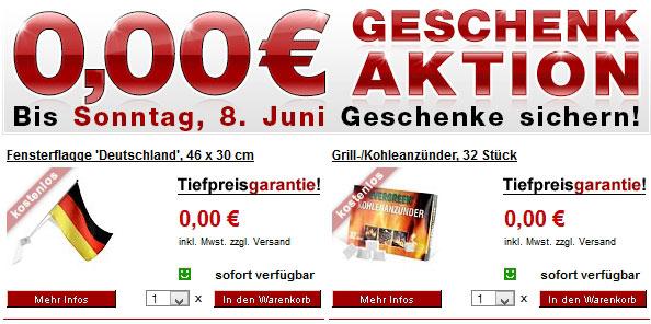 Fensterflagge & Grillzubehör gratis!
